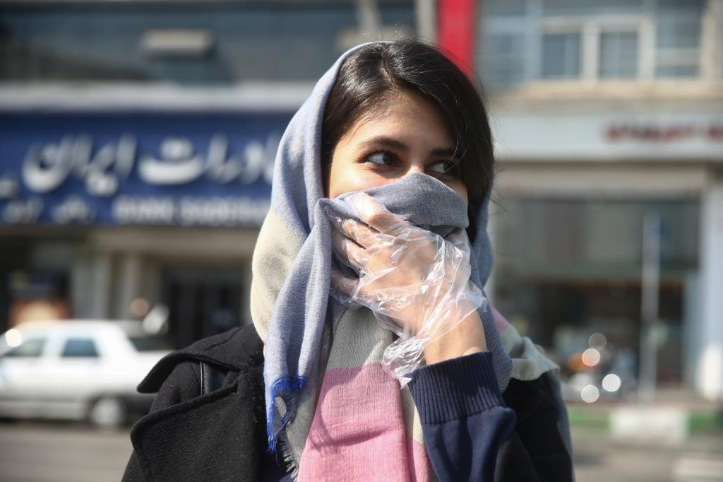 Coronavirus spreading in Iran