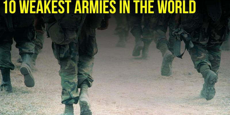 Weakest countries in the world