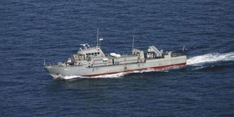 Iran missile accidentally hits its own ship