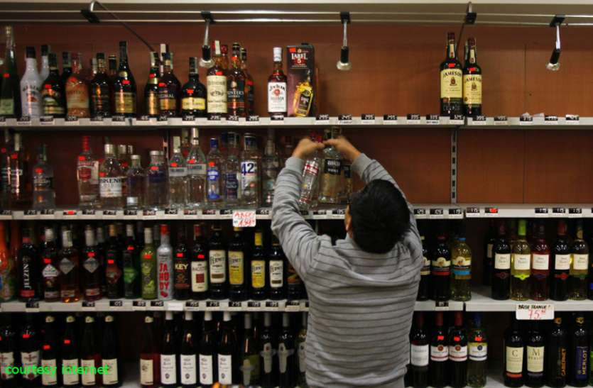 Liquor shops open after 40 days in lockdown