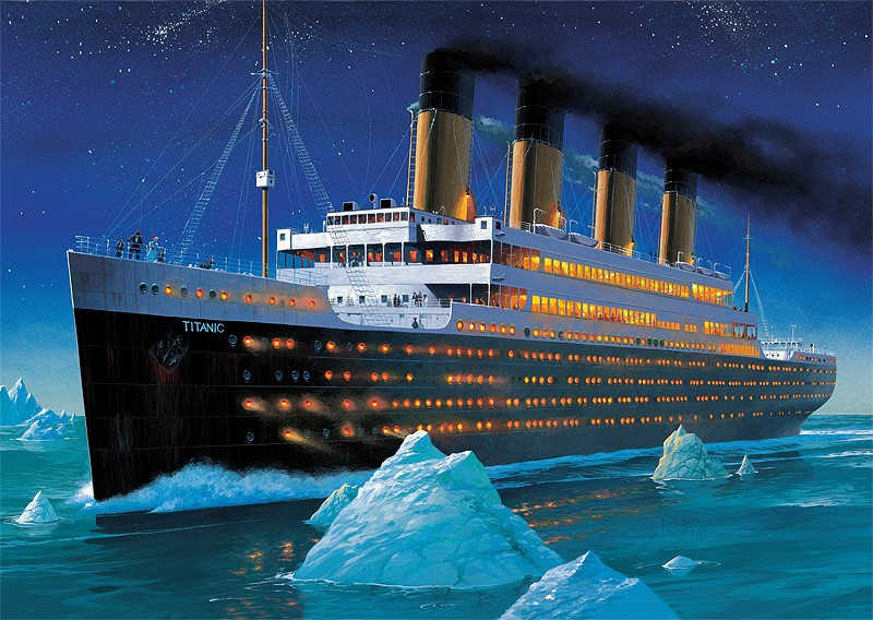 Why is Titanic still at the bottom of the ocean