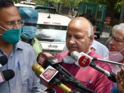 Coronavirus India Cases Live Updates, Delhi Might See 5.5 Lakh Covid-19 Cases By July-End, Says Manish Sisodia