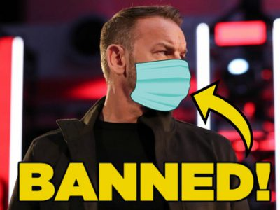 WWE Fans are Banned From Wearing Masks By WWE During Raw Tapings