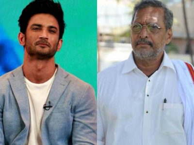 Nana Patekar Meets Singh Rajput's parents in Patna - First bollywood celebrity to visit parents of the late actor