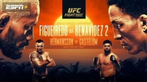 Figueiredo vs. Benavidez UFC Fight Island 2: Where to watch? live streaming options and updates
