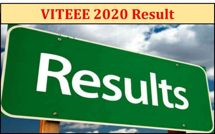 How to check VITEEE result 2020 for B.tech programme? VITEEE results announced
