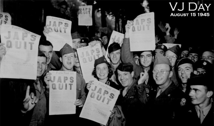 When is VJ Day 2020?