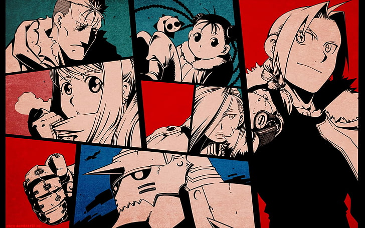 Full-Metal Alchemist Brotherhood