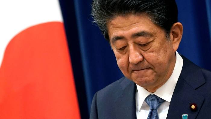 Who will be the new prime minister of Japan after Shinzo Abe? Shinzo Abe resign because of Illness