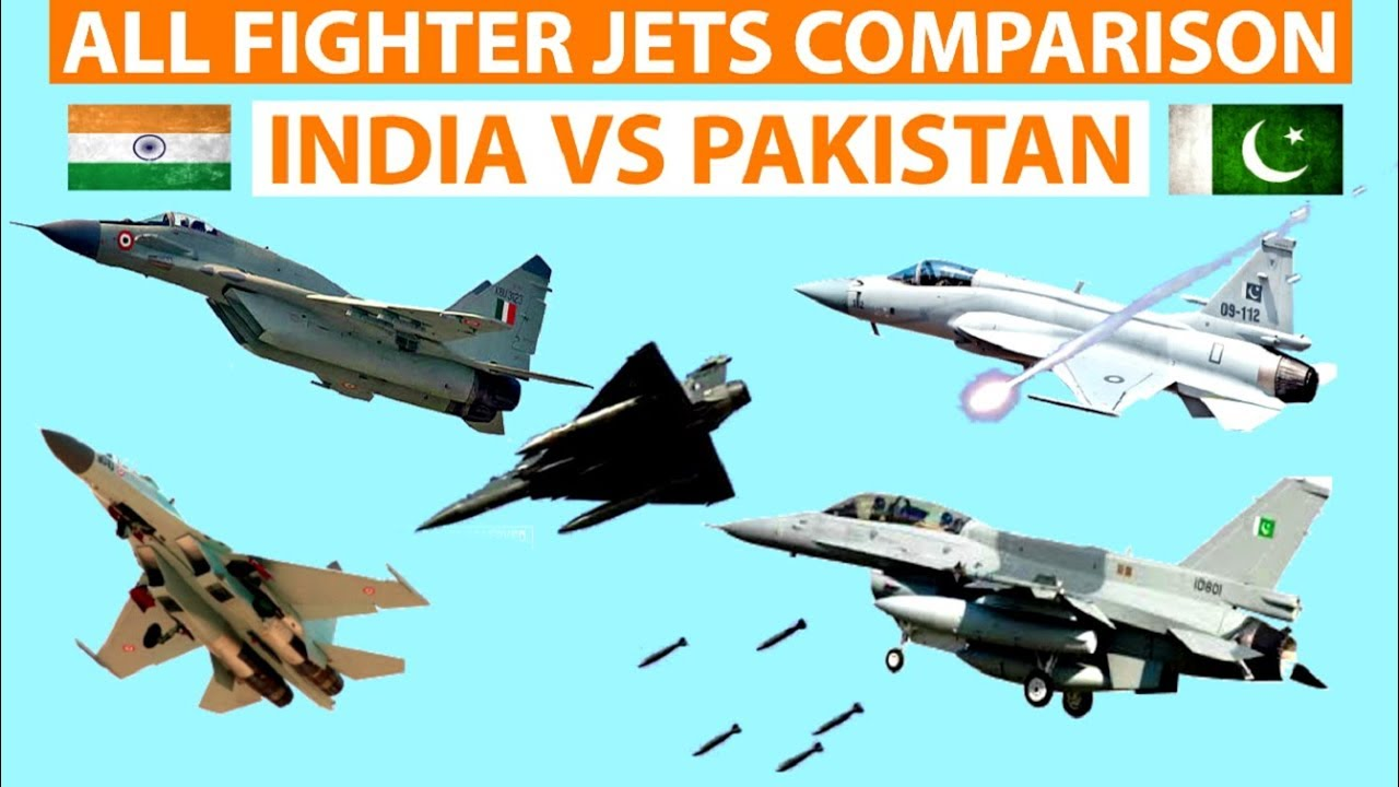 Indian fighter Jets vs Pakistani Fighter jets- Who is the winner? Comparison in Military Power