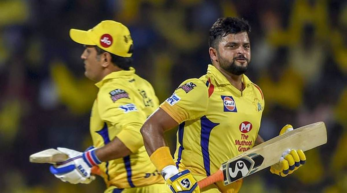 Why did Suresh Raina left UAE?