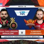 RCB vs SRH Dream 11 Mega contest IPL-2020 Live Score Royal Challengers Bangalore vs Sunrisers Hyderabad Playing 11 Teams & Squad