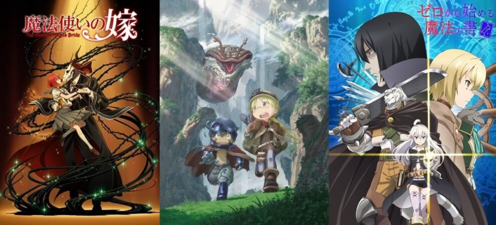 best fantasy anime series of all time