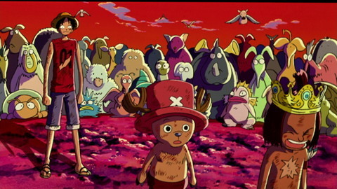 Chopper's Kingdom on the Island of Strange Animals
