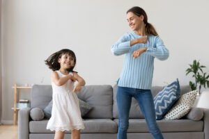 Keeping Kids Active At Home
