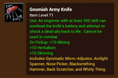 Ultimate Gnomish Army Knife