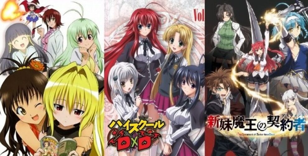 Best Dubbed Ecchi Anime To Watch