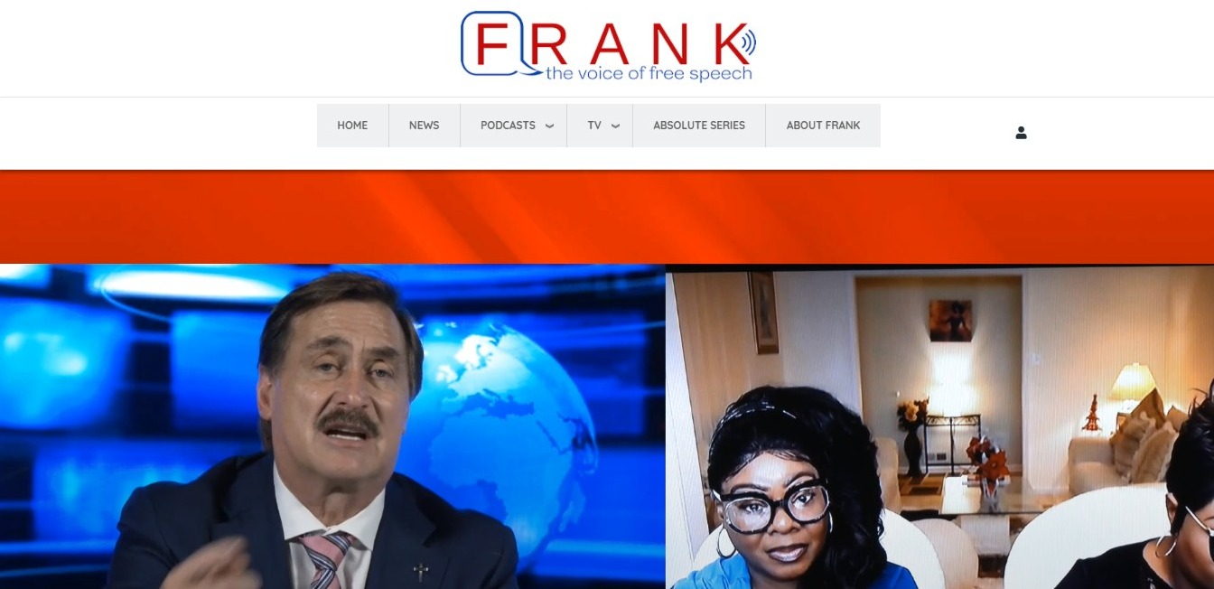 First Look of mike lindell frankspeech