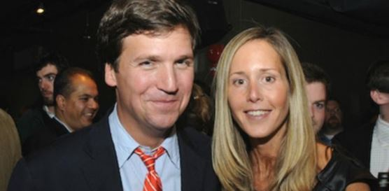 Tucker Carlson and her Wife Susan Andrews