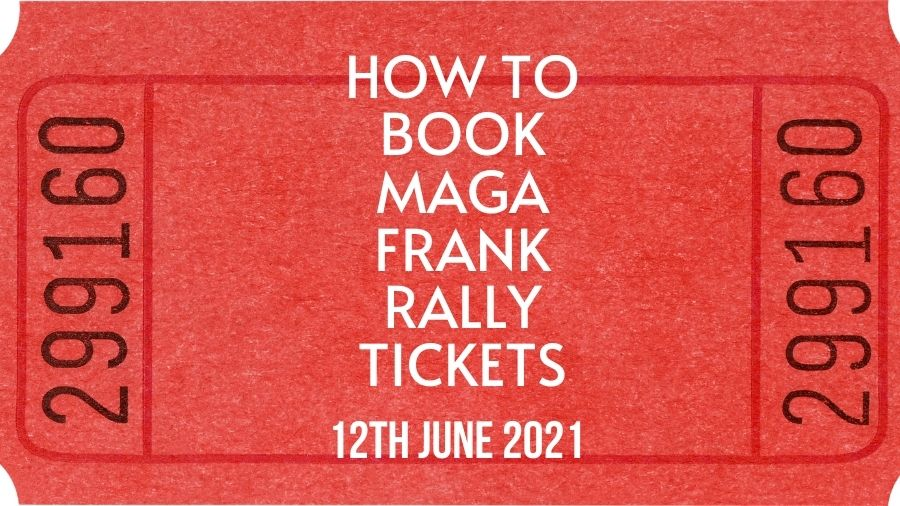 How to Book MAGA Frank Rally Tickets