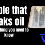 Bible that leaks oil - Everything you need to know