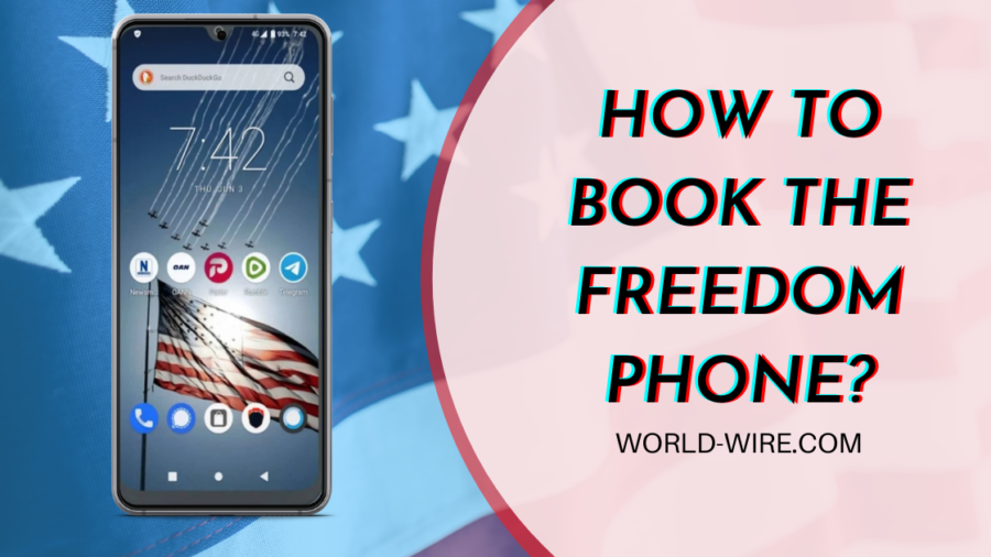 How To Book Freedom Phone by Erik Finman?