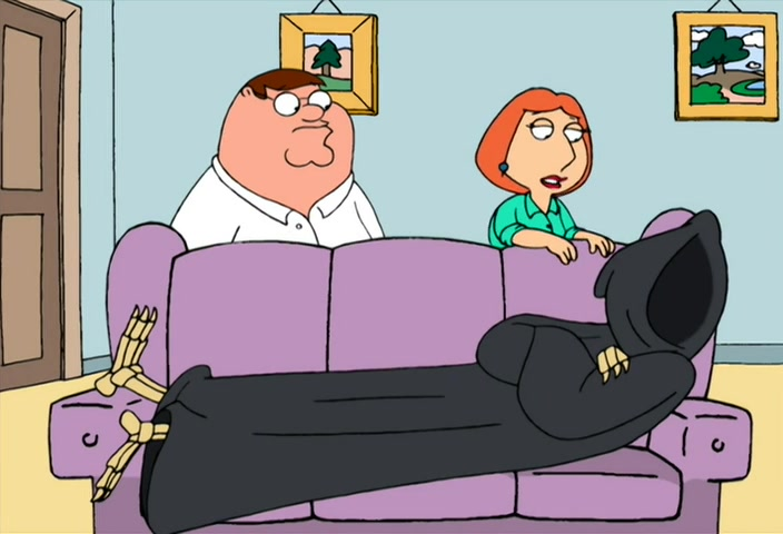 Best Family Guy episodes - Death is a Bitch