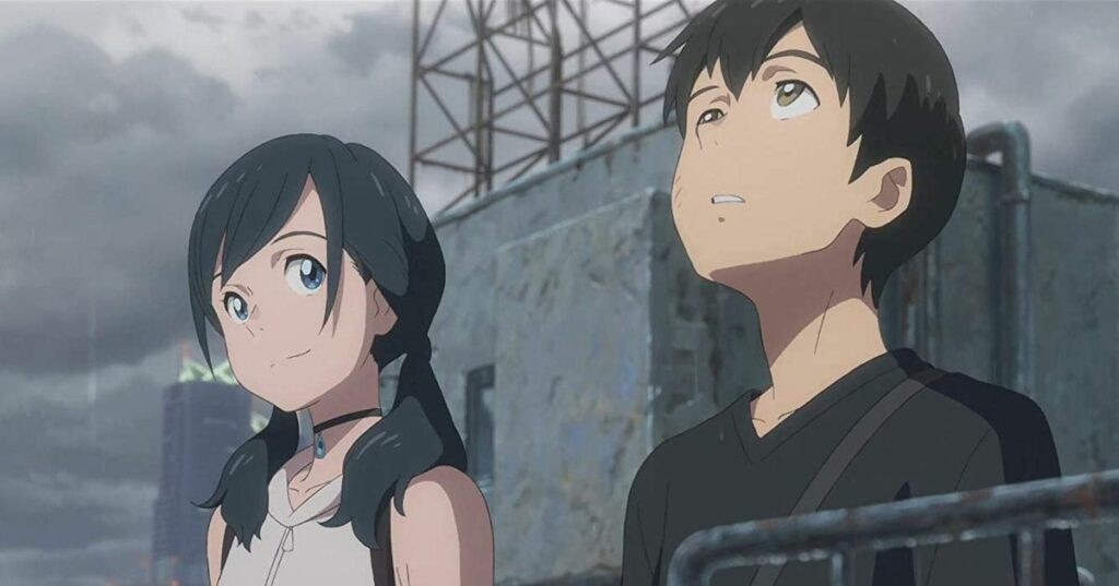 Best Romance Anime - Weathering With You