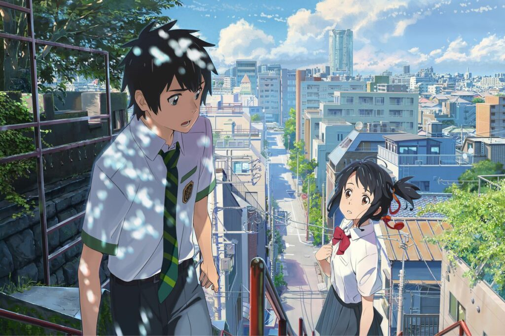 Best Romance Anime - Your Name