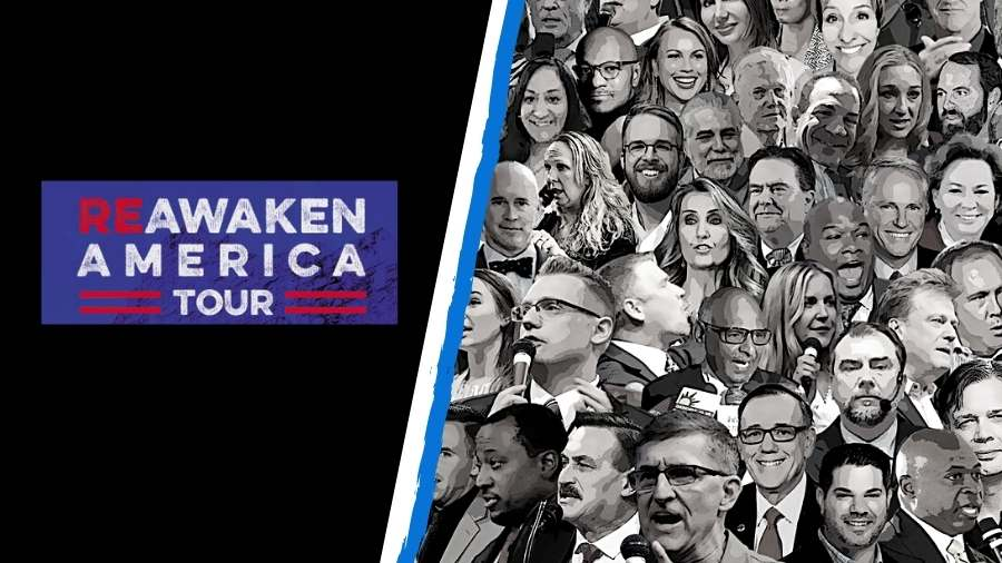 ReAwaken America Tour details - Tickets, Livestream and more