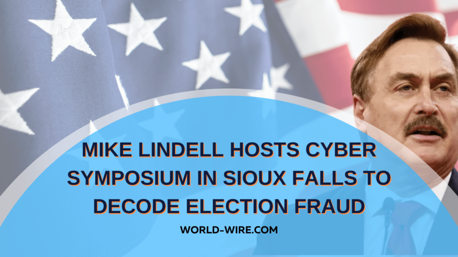 Mike Lindell hosts cyber symposium in Sioux Falls to decode election fraud