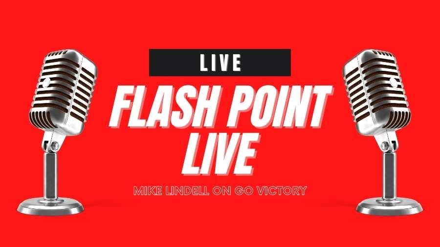 Watch Mike Lindell live on Go VICTORY Flashpoint Livestream