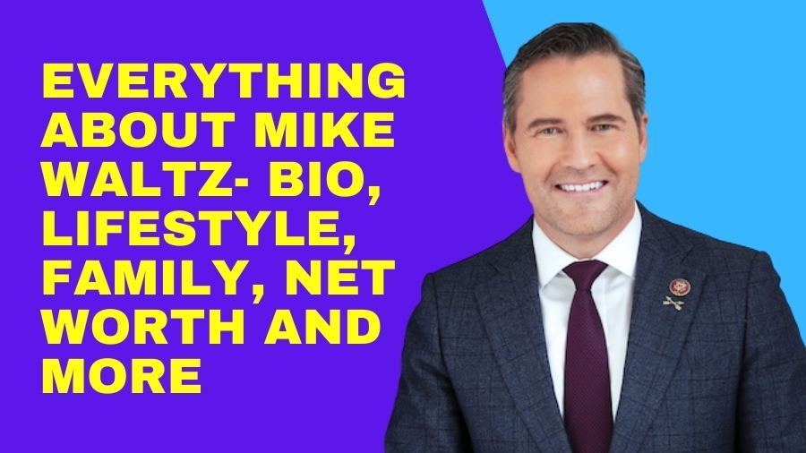 Everything about Mike Waltz- Bio, Lifestyle, Family, Net Worth and More