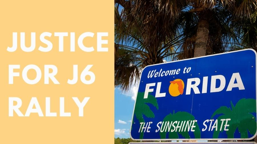All About Justice for J6 rally at Florida