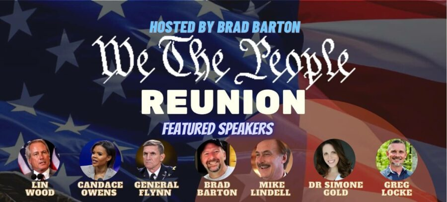 We the people reunion livestream hosted by brad barton