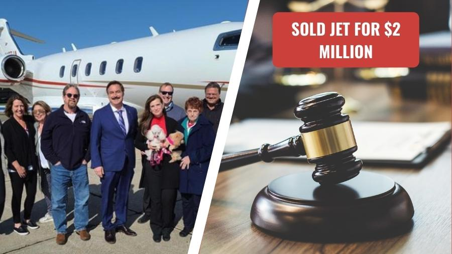 Mike Lindell sells his private jet for $2.5 Million to fight dominion lawsuit