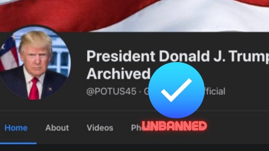 Donald Trump's Facebook page is now Unbanned